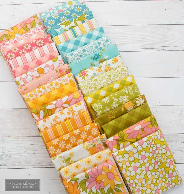 CT A Blooming Bunch Fabrics
