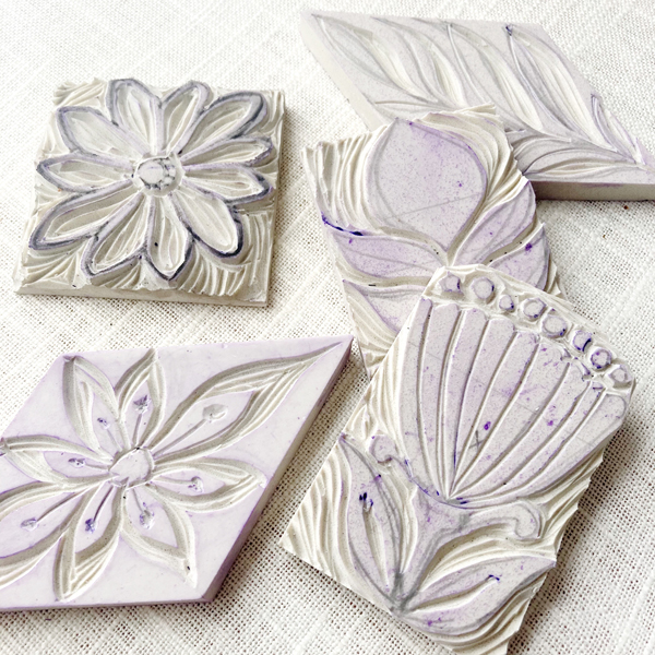 CT Kate Spain Confection Batiks Carved Blocks