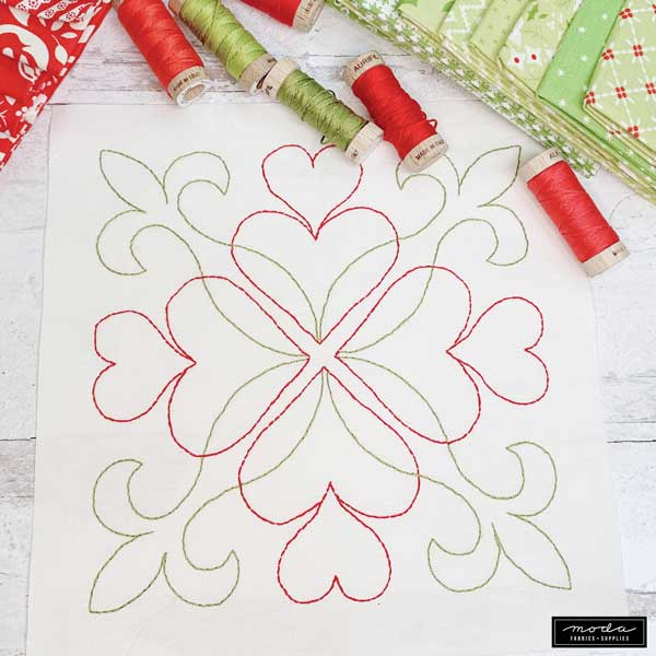 Holiday Stitch-a-Long Block 2