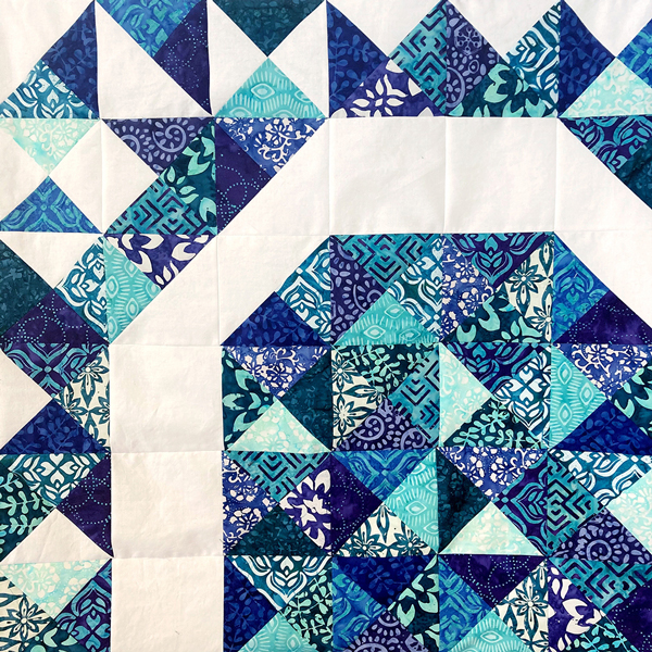 CT Kate Spain Confection Batiks Exploding Heart Detail