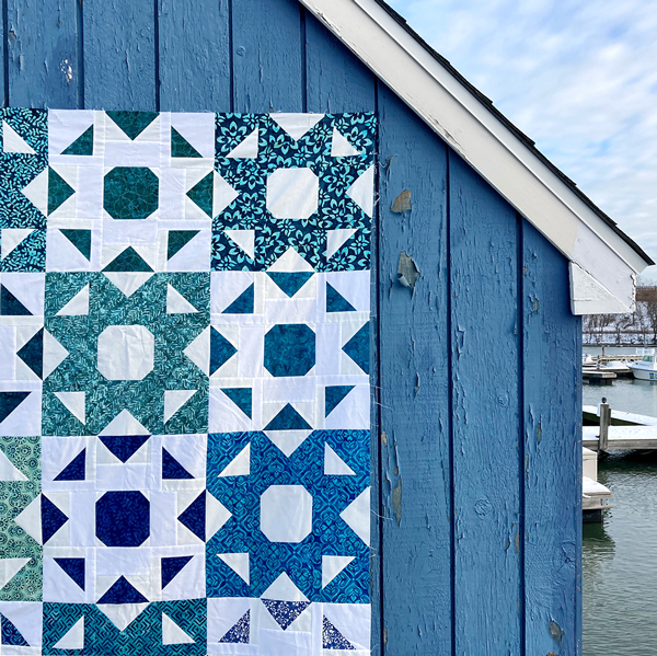 CT Kate Spain Confection Batiks Harbor Sweet Blues