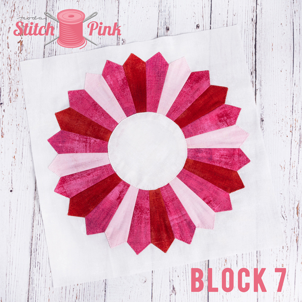 Stitch Pink Block 7 Jersey Girl