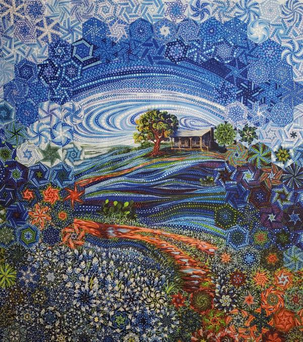 Dreamscapes quilt by Kathy Kennedy